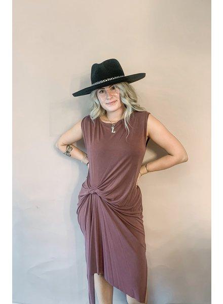 The Sloan Dress | Burgundy