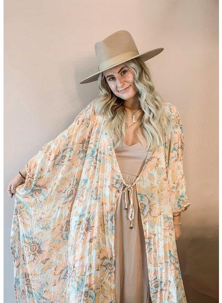 Free People Into The Wild Kimono