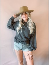 Kirsten Long Sleeve Knit | Grey