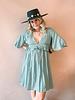Lindsay Lace Contrast Dress