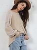 Harlow Print Sweater Top