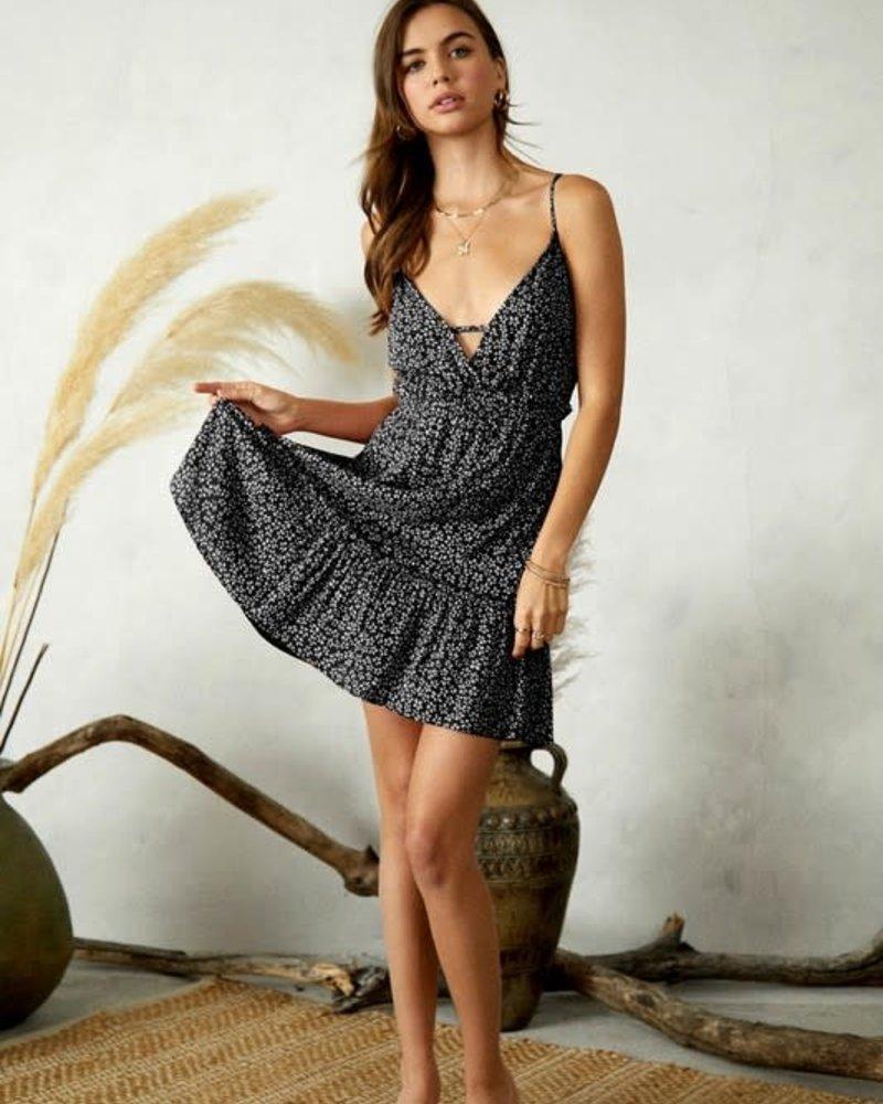 Daisy Midi Dress | Black