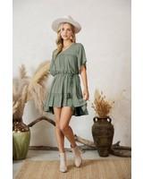 Brianna Linen Dress