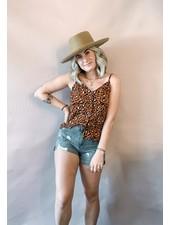 Rust Leopard Cami