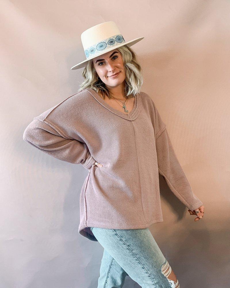 Annie Sweater   Purple