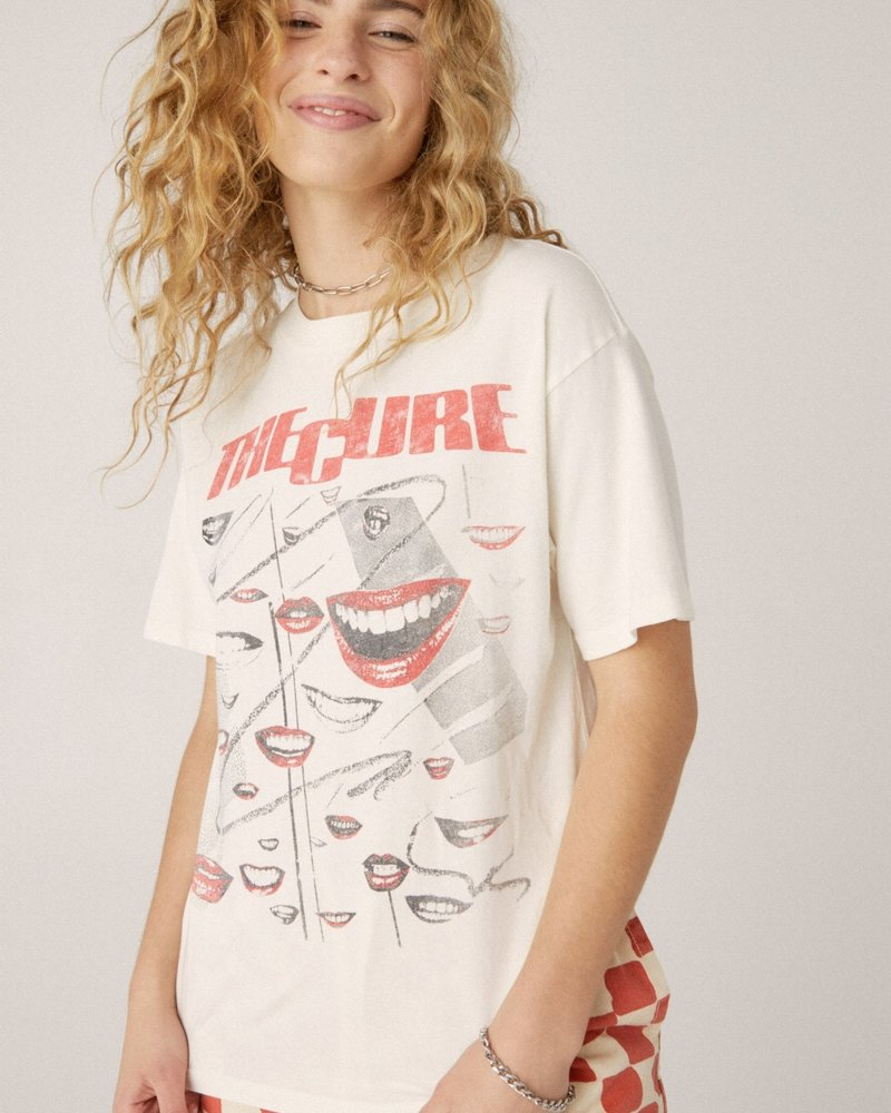 The Cure Faded Smiles Weekend Tee