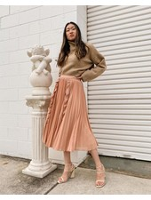 Maia Skirt | Peach