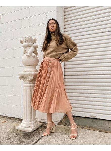Maia Skirt   Peach