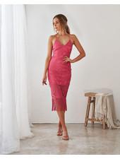Khaleesi Dress | Hot Pink