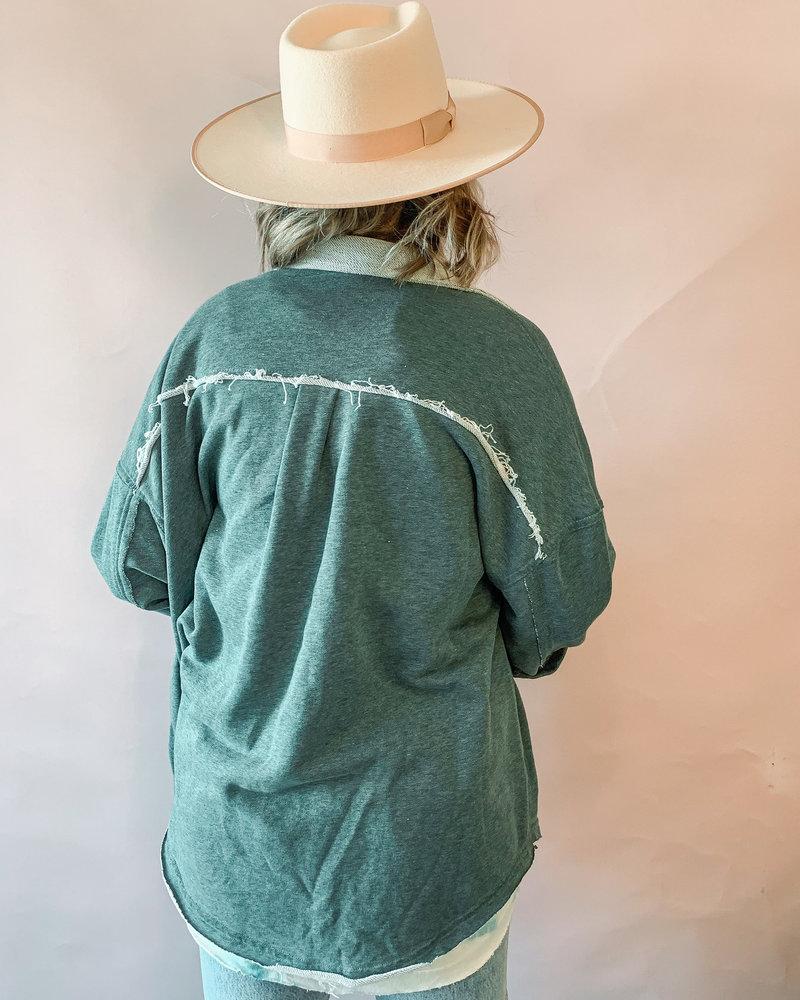 Mabel Shacket | Green