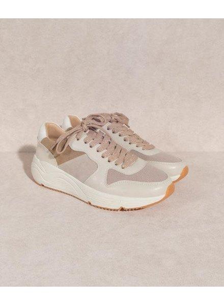 The Maddie   Sporty Platform Sneaker