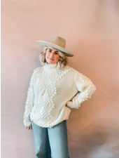 Nessie Knit | White