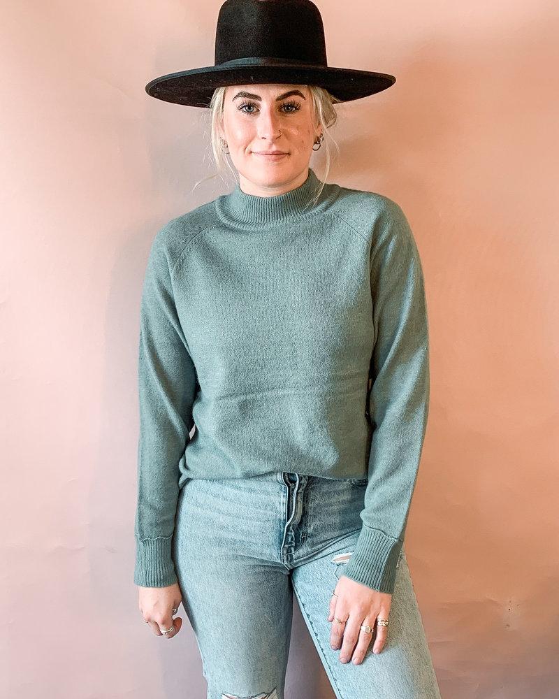Aleah Sweater | Teal