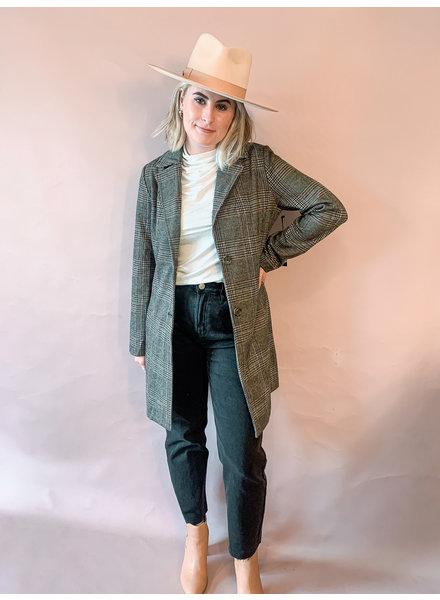 Maci Longline Blazer Coat