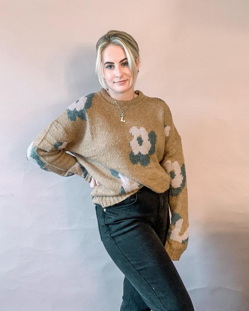 Nakia Floral Sweater