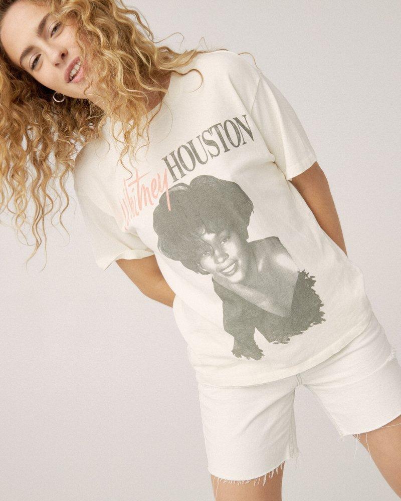 Whitney Houston Fan Club Weekend Tee
