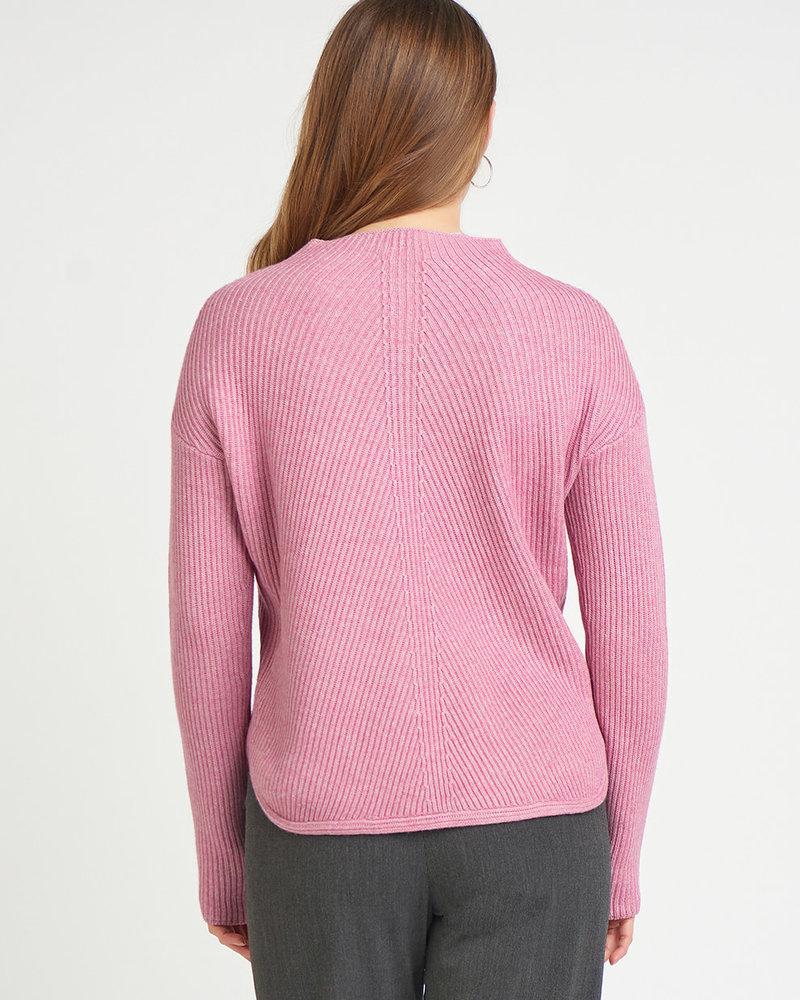 Marie Mock Neck Sweater