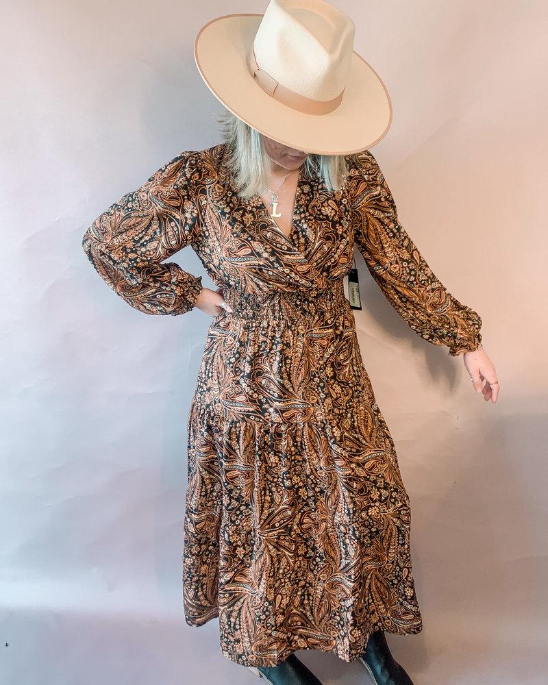 Haisley Paisley Maxi Dress
