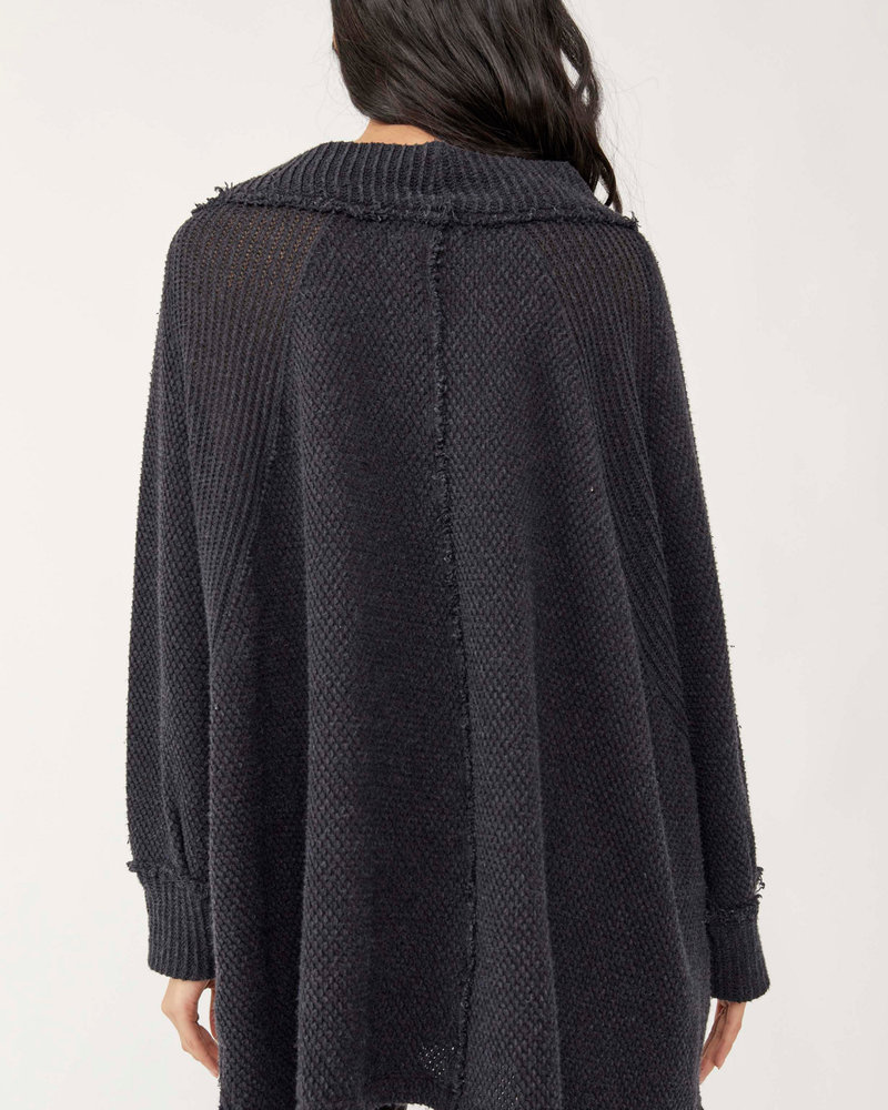 Free People She's A Keeper Sweater | Black