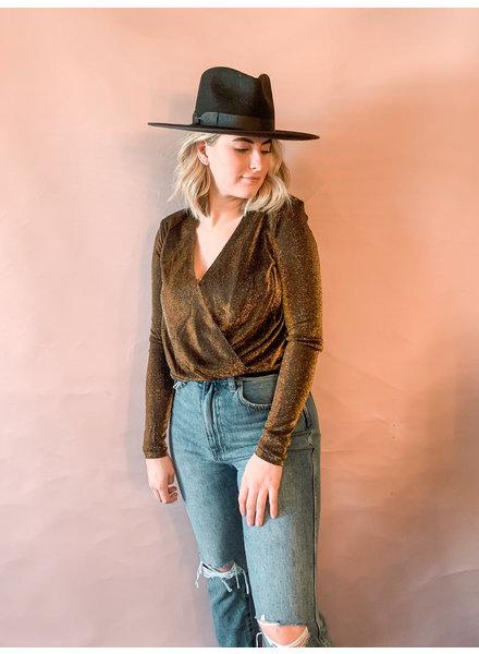 Jayla Gold Bodysuit
