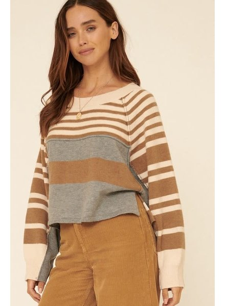 Koda Color Block Sweater