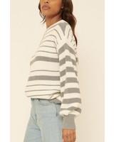 Sonya Striped Knit Sweater