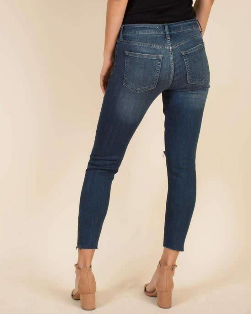 Mid Rise Skinny w/ Ankle Zipper