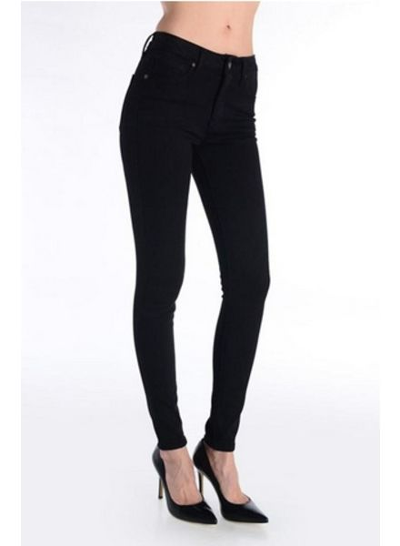JUST BLACK High Rise Super Skinny