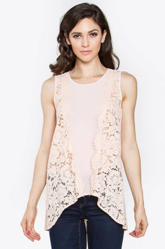 e2d8e6c195e51b Beloved Floral Lace Top - Thelma   Thistle