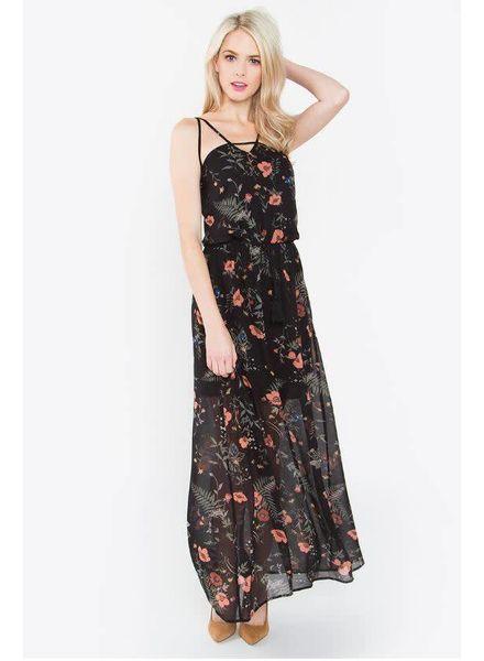 Miya Floral Maxi Dress