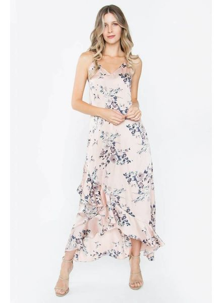 Dreamy Blush Floral Maxi