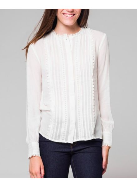 Honey Punch Darla Button Up Blouse