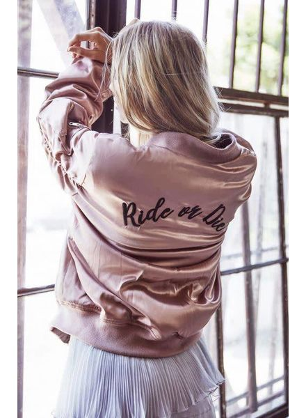 """""""Ride or Die"""" Bomber"""