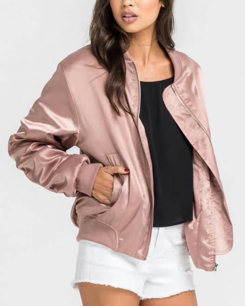 "LUSH ""Ride or Die"" Bomber"