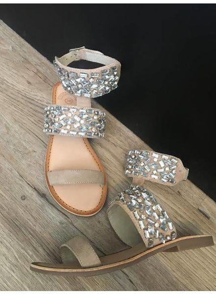MOLLY BRACKEN Beaded Sandal