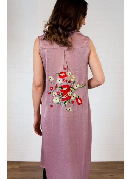 5c91d941bd6ad Silk Vest w  Embroidery Back Detail