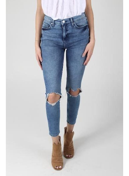 Free People Busted High Rise Skinny