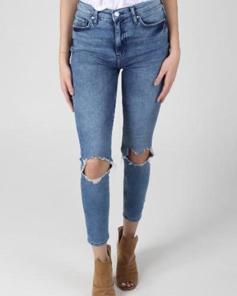 Busted High Rise Skinny