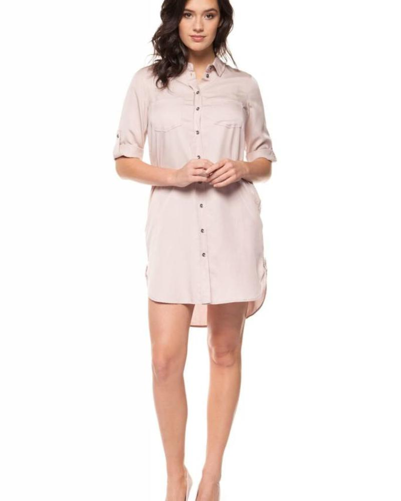 Black Tape/Dex Lavender Tunic Dress