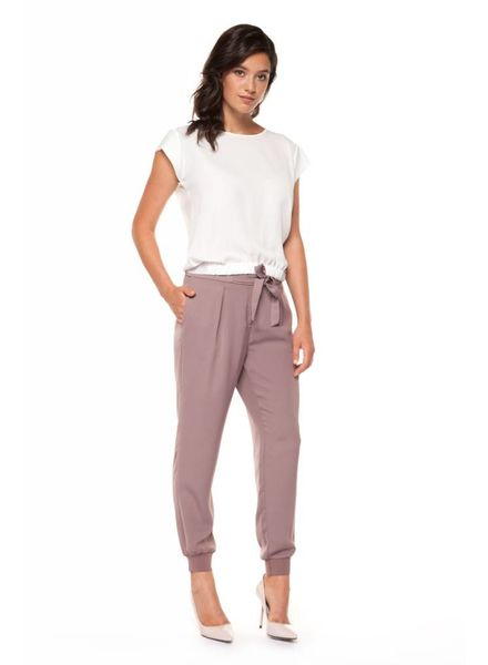Pull on Jogger Pant w/ Bow