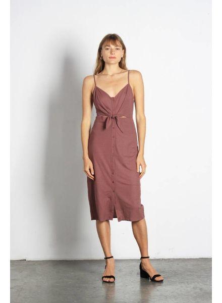 Mod Ref The Cara Dress | Mauve