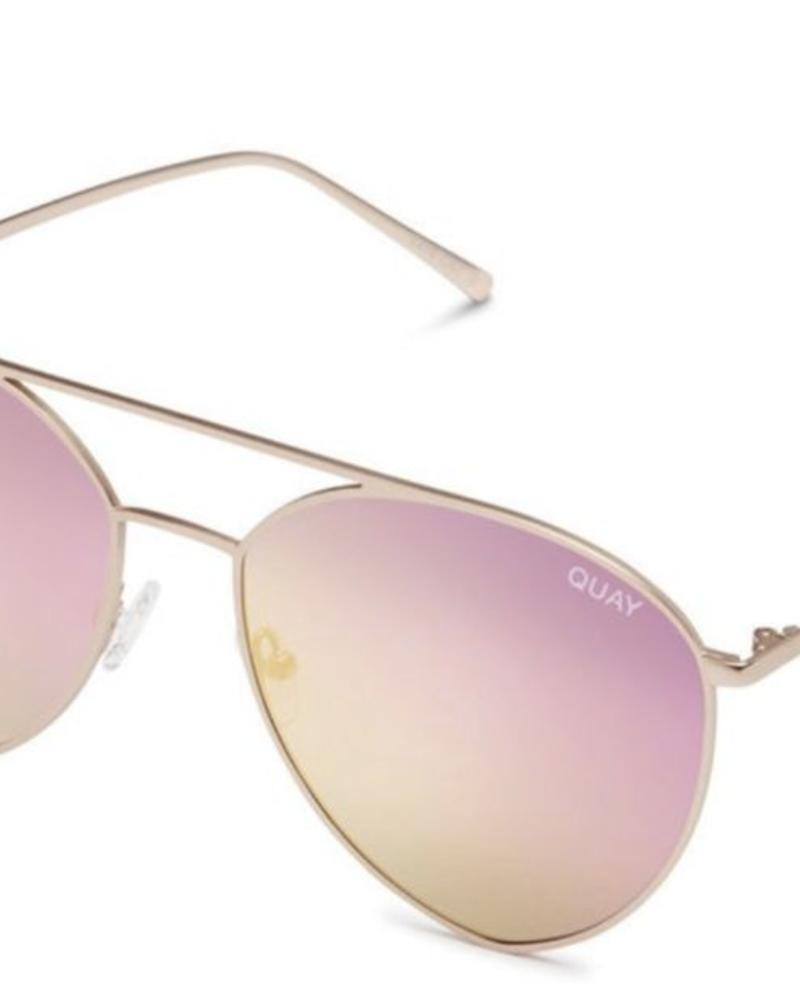 QUAY Indio | Gold/Pink