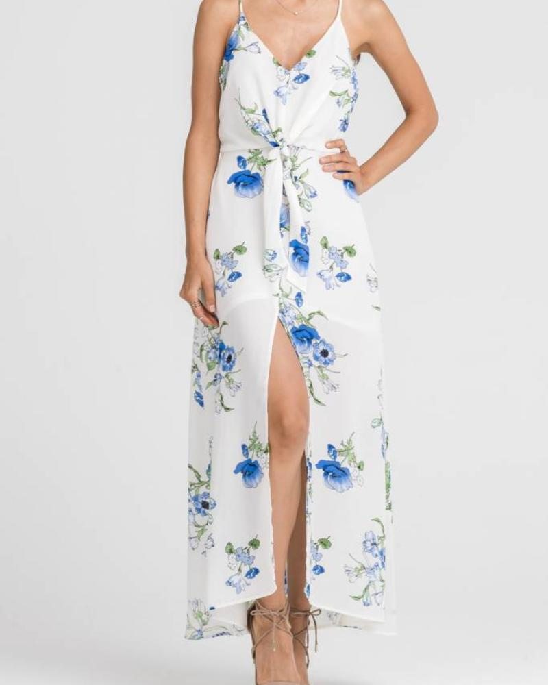 LUSH Ivory Floral Dress