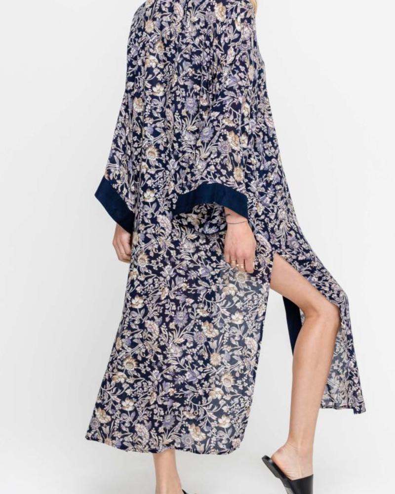 LUSH Print Kimono