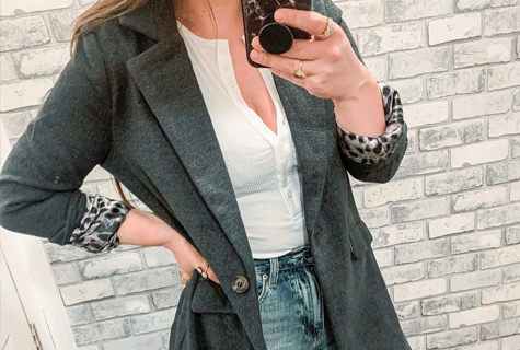 SPICE UP your outerwear.