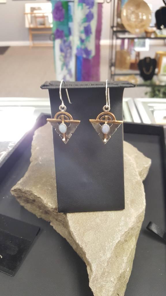 344 Opal Earrings
