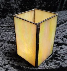 3 x 5 Stained Glass Candle Holder