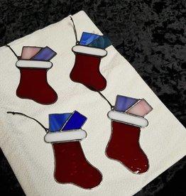 Stockings w/Gifts Suncatcher