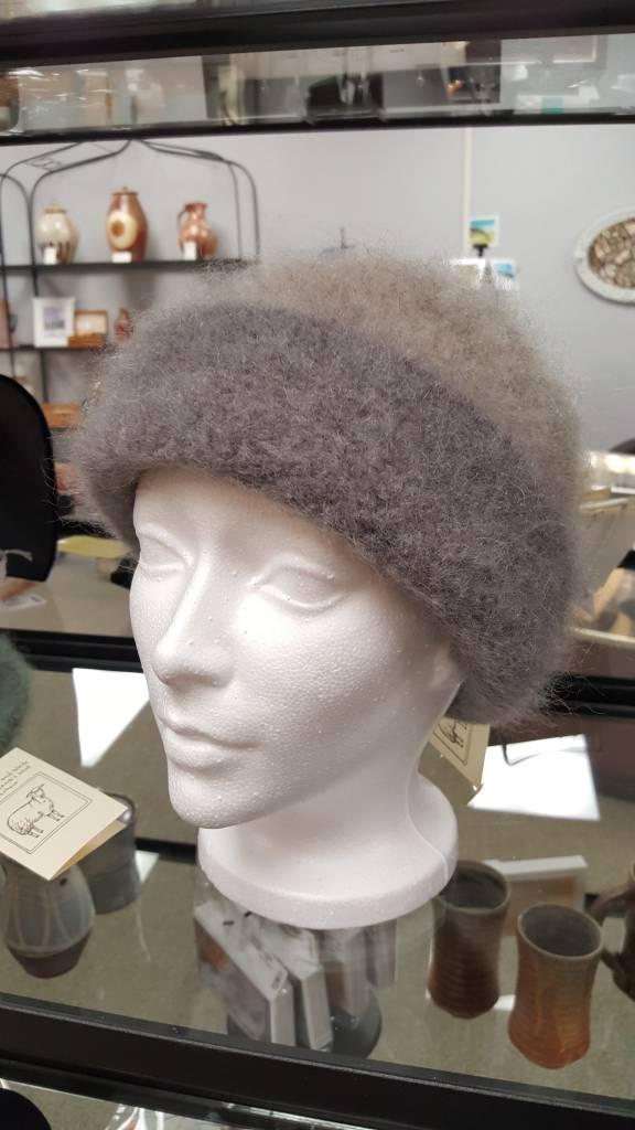 Grey/Grey Folded Hat