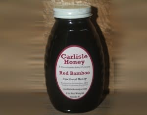 8oz Honey-Red Bamboo